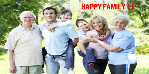 happy family – 1
